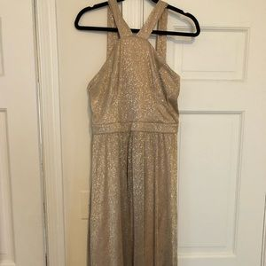 Lulus gold dress